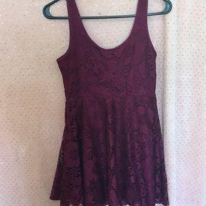 Aeropostale Dresses - Plum, lace dress
